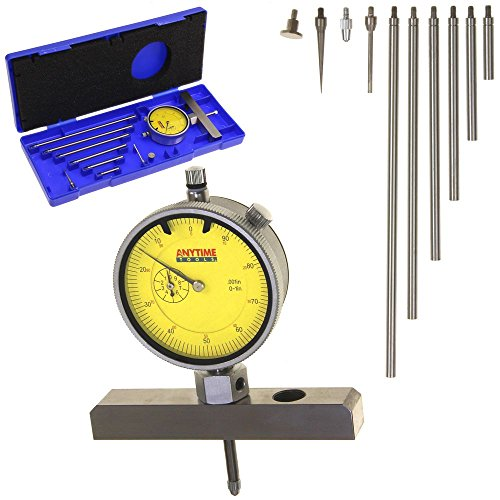Anytime Tools Depth Gauge Dial Indicator 0-22
