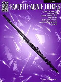 Favorite Movie Themes: Flute [With CD (Audio)] by Hal Leonard Publishing Corporation (Creator) (1-Jul-2002) Paperback