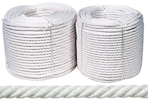 Rombull Ronets 438020000944 - Rollo Cuerda Nylon Mate 20Mm-100Mt Blanc