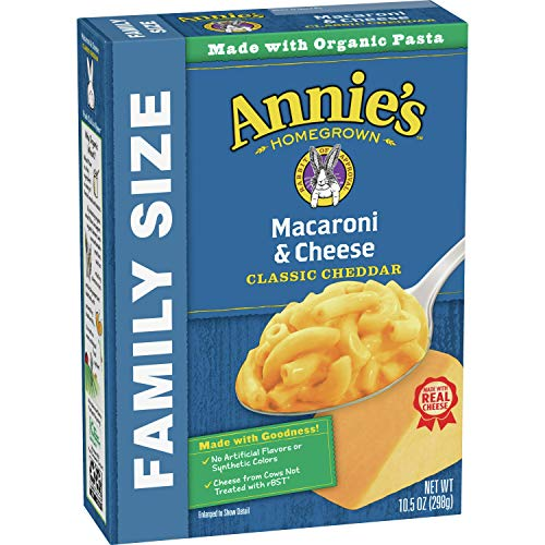 Annie#039s Classic Mild Cheddar Macaroni and Cheese Family Size 105 oz