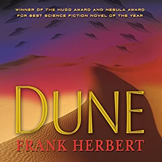Dune audiobook cover art