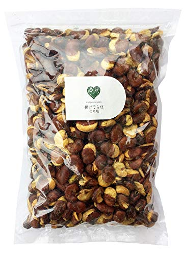 揚げそら豆 のり塩(無選別)1kg 国内加工 オーストラリア産 大粒そら豆使用 フライビーンズ いかり豆 花豆 業務用