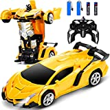 Dolanus Remote Control Car - Transform Robot RC Car with One-Button Deformation and 360 Degree Rotating Drifting, Race...