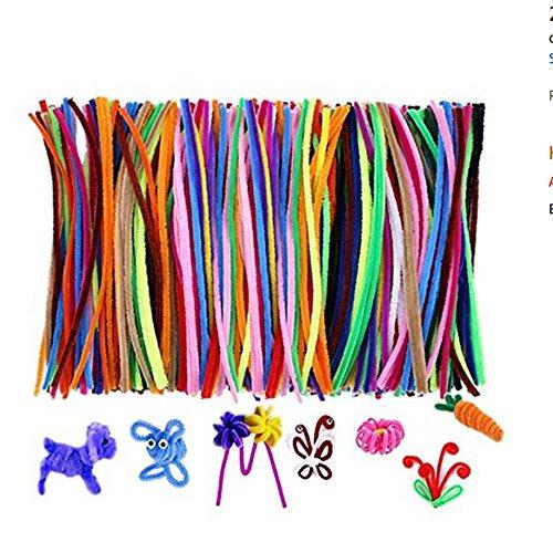 hou zhi liang Children Puzzle Twist Sticks Color Plush Leather DIY ...