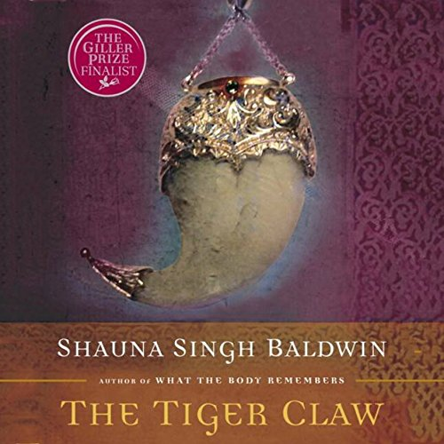 The Tiger Claw audiobook cover art