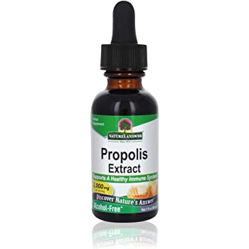 Nature's Answer Propolis Resin Extract | Herbal Supplement | All-Natural Immune Support | Vegan, Alcohol-Free & Gluten-Free 1oz