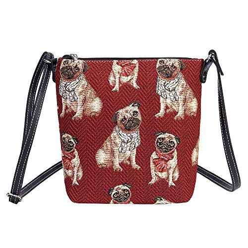 Signare Tapestry Arazzo Piccola Borsa a Tracolla, sacchetto borsello, personal pocket bag (Carlino)
