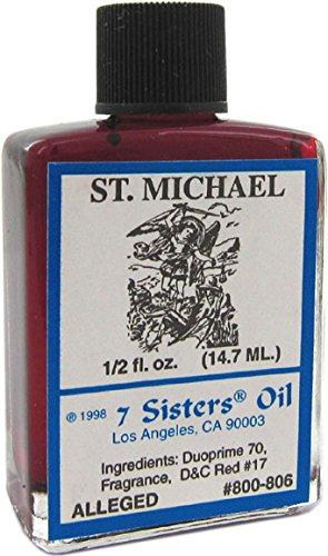 7 Sisters Saint Michael Oil 1/2 fl. oz.