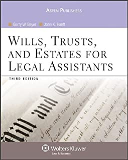 Wills, Trusts, and Estates for Legal Assistants by Gerry W. Beyer (2009-04-22)