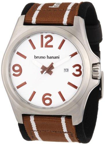 Bruno Banani Herren-Armbanduhr XL Teris Analog Nylon BR21032
