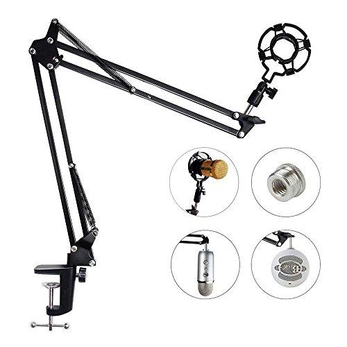 Upgraded Adjustable Microphone Suspension...
