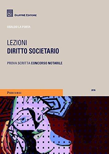 Diritto societario. Lezioni
