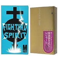 オカモト スキンレス 2000 12個入 + FIGHTING SPIRIT (ファイティングスピリット) コンドーム Mサイズ 12個入
