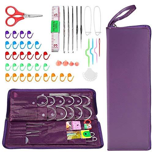 Kits para tejer con aguja de lengüeta marca Yosoo