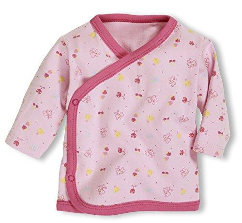 Playshoes GmbH Schnizler Baby-Unisex Flügelhemd Langarm Allover Hemd, Rosa (Rose 14), 50
