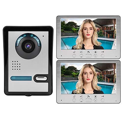 FOLOSAFENAR Videoportero de bajo Consumo Resistente al Desgaste Teléfono de la Puerta(European Standard (110v-240v))