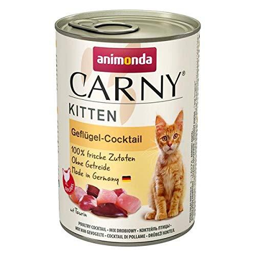 animonda Carny Kitten Geflügel-Cocktail 400g (Menge: 6 je Bestelleinheit)