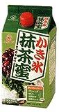 抹茶シロップ 900ml 合成甘味料,保存料 不添加