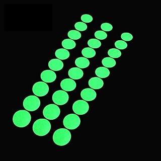 Glow in The Dark Tape Dots, 1 inch rond, 100 gloeiende stippen sticker op rol, geschikt voor schakelaars, muren, paden, af...