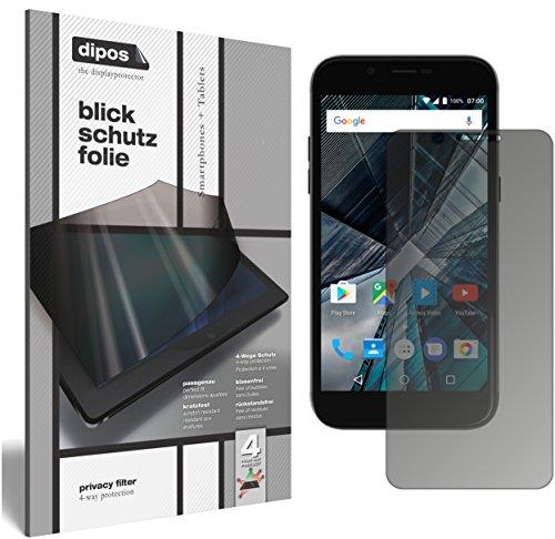 dipos I Blickschutzfolie matt kompatibel mit Archos 50 Graphite Sichtschutz-Folie Bildschirm-Schutzfolie Privacy-Filter