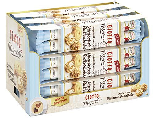 Giotto Momenti Dänischer Butterkeks 4 x 9er Stange, 9er Pack (9 x 154,8g)