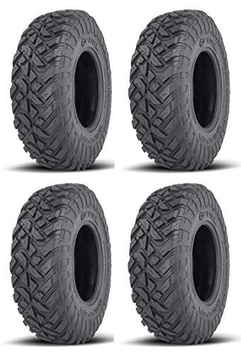 Full set of Fuel Gripper T/R/K (10ply) Radial ATV/UTV Tires [32x10-15] (4)