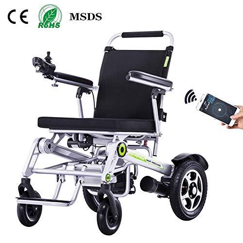 Y-L Elderly Disabled elektrische rolstoel, lichtgewicht lithiumbatterij, kan in het vliegtuig worden gebruikt, Oudere mindervaliden scooter, ultralicht inklappen