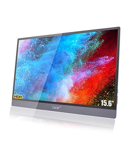 15,6 Zoll Tragbarer Monitor Ultra-Dünn IPS HDR Gaming Bildschirm HDMI HD...