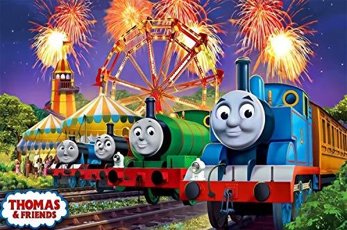 Tren Thomas y Sus Amigos 300/500 Pieza Espacial Rompecabezas Adultos Niños Puzzles, Crecido Puzzles Juegos educativos (Color : C, Size : 500pcs)