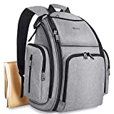 Diaper Bag Backpack, Large Multifunction Waterproof Travel Baby Nappy...