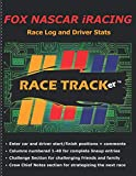 FOX NASCAR iRACING: Race Log and Driver Stats - 'Be a part of the race!' 40 car lineup for each race.  Enter Driver start/finish positions, add ... notes section for strategies. Fun for all!