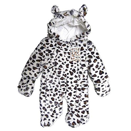 ♥ROCK a BYE BABY Schneeanzug LEO Overall Öhrchen Fuß Handschuhe (68/74)