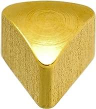 Caflon Blu 24 Carat Gold Plated Triangle Shape Studs
