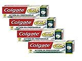 Colgate Kit de Voyage Dentifrice et Brosse à Dents 44 g - Lot de 4 (coloris aléatoire)