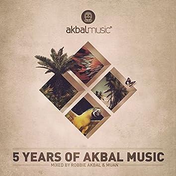 5 Years of Akbal Music