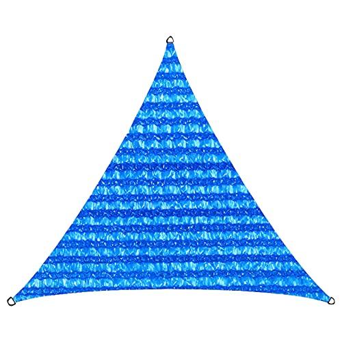 NANSHEN Sombrilla de la Sombrilla Netificación UV Bloqueo a Prueba de Viento A Prueba de Viento Sombrilla Impermeable Sombrilla Alta Densidad Durable Plegable Actividad Al A blue-5X5X5M