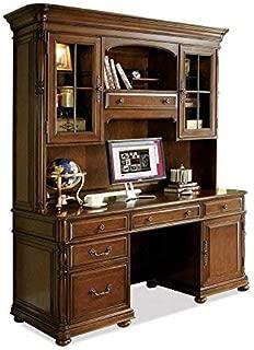 Riverside Furniture 381246 Bristol Court Computer Credenza, Brown