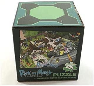 May 2015 Loot Crate RICK & MORTY 300 pc. Puzzle by Adult Swim