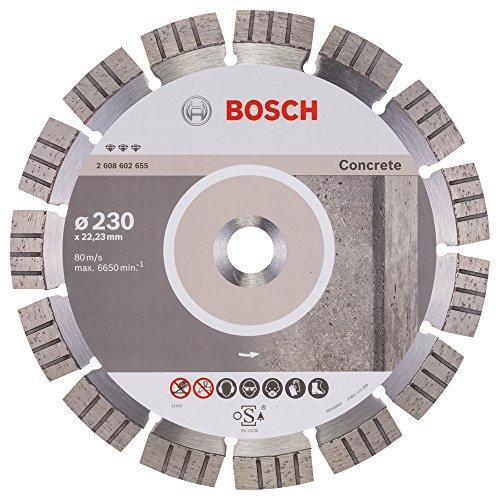 Bosch Professional Diamanttrennscheibe Best für Concrete, 230 x 22,23 x 2,4 x 15 mm