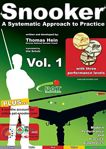PAT Snooker Vol. 1: A Systematic Approach to Practice (Snooker - A Systematic Approach to Practice) (English Edition)