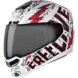Steelbird SBA-1 Free Live Matt White with Red with Smoke visor,580mm bluetooth motorcycle helmets Oct, 2020