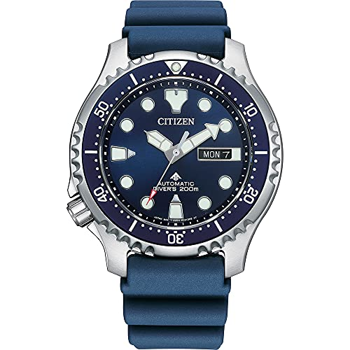 Citizen Promaster Marine Herren-Taucheruhr Automatik Blau NY0141-10L