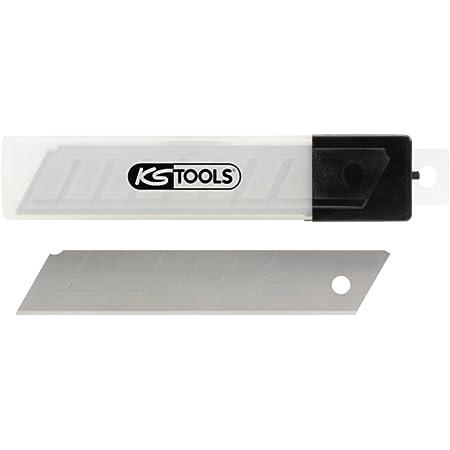 KS Tools 907.2159 - Cuchillas de recambio para cúter (10 unidades, 25 mm, troceables)