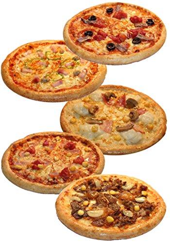 ピザ・カンピオーネ 冷凍 ピザ 5枚Cセット 【 アンチョビトマト / 厚切りベーコン / ジャーマングラタン / ミックスピザ / 和風ビーフ 】 手作り 国産小麦 使用 直径約 直径約22cm