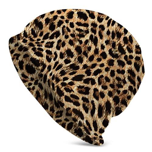 Jimbseo Gorros unisex The Of Cheetah Jaguar Gorro de punto