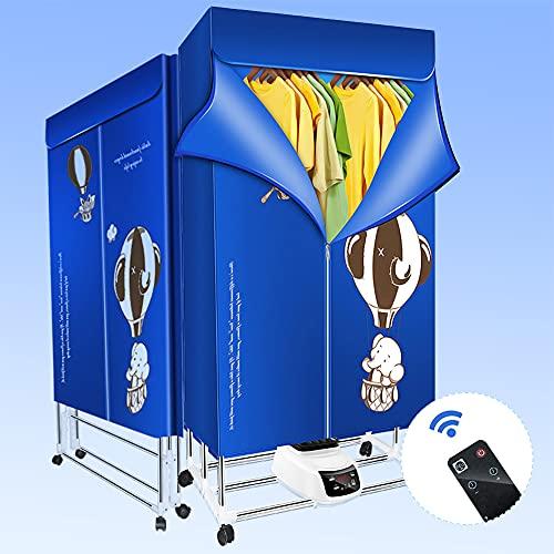Ttlife Secadora Ropa Eléctrica Calentada Tendederos para Ropa Interior Grande automático silencioso...