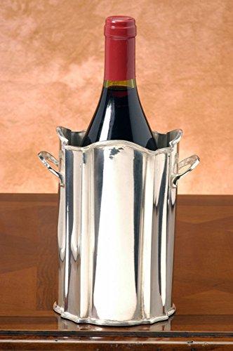ROYAL QUEEN Portabottiglia Argentato Argento Sheffield Stile 700 cod.51850663 cm 11x11x17h diam.13 by Varotto & Co.