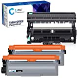 LxTek Compatible Toner Cartridge & Drum Unit Replacements for Brother TN660 TN630 TN-660 DR630 High Yield to use with HL-L2300D HL-L2320D HL-L2340DW HL-L2360DW(2 Toner Cartridges, 1 Drum Unit, 3 Pack)