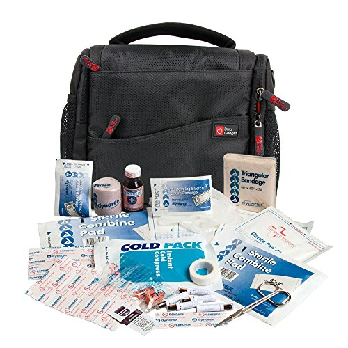 DURAGADGET Bolso/Botiquín para Equipo De Primeros Auxilios | Compartimentos Interiores Regulables Fisioterapeutas Deportivos