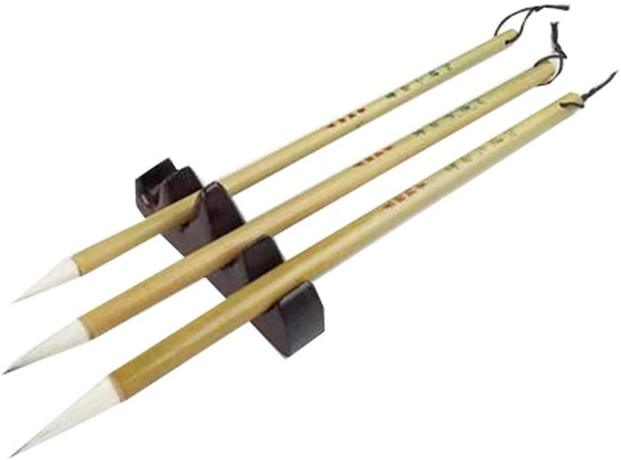 3PCS Excellent Jian Hair Chinese Dealing full price reduction Cheap bargain Brush Japanese Sumi Calligraphy